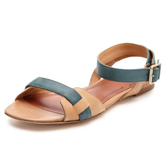 51f96796c Elizabeth and James Shoes - Elizabeth and James Paige sandal leather flats